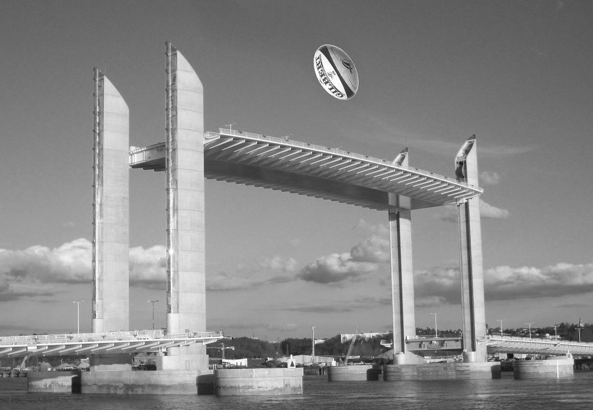 Le septi me pont de bordeaux editions sansqu 39 ilsoitbesoin - Le pont levant de bordeaux ...